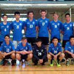 Back row: James Ridley (Coach), (Patrick Mentis), Adrian Vuong, Andrew Hind, Kurtis Weber, Alexander Magus, Tommy Nguyen, Chris Petrie (Assistant Coach). Front row: Louis Michael, Ilir Ajdari, Eric Truong, Richard Bui, Victor Wang.