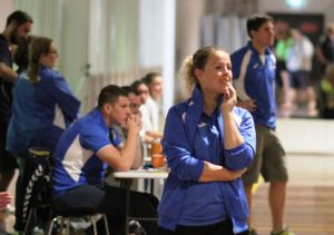 NSW Handball on bench duties